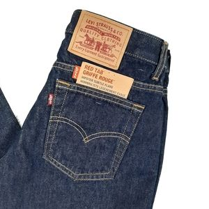 NWT Vtg Levis Red Tab Hipster Subtle Flare Jeans